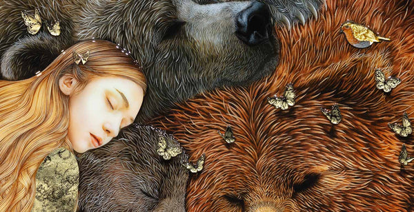 Goldilocks Three Bears - Kerry Darlington