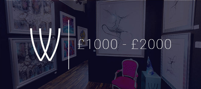 Art for £1000 - £2000 with Wyecliffe Galleries