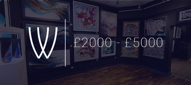 Art for £2000 - £5000 with Wyecliffe Galleries
