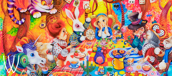 Kerry Darlington Alice in Wonderland