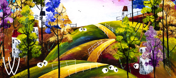 Rozanne Bell 'Harvest Moon' Villages Collection