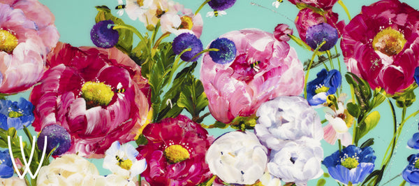 Rozanne Bell Pop Floral Collection