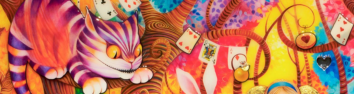 Kerry Darlington Alice in Wonderland Cheshire Cat