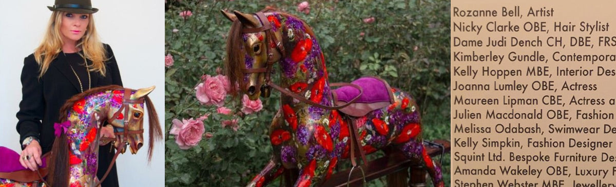 rozanne bell Chiva Africa rocking horse southebys