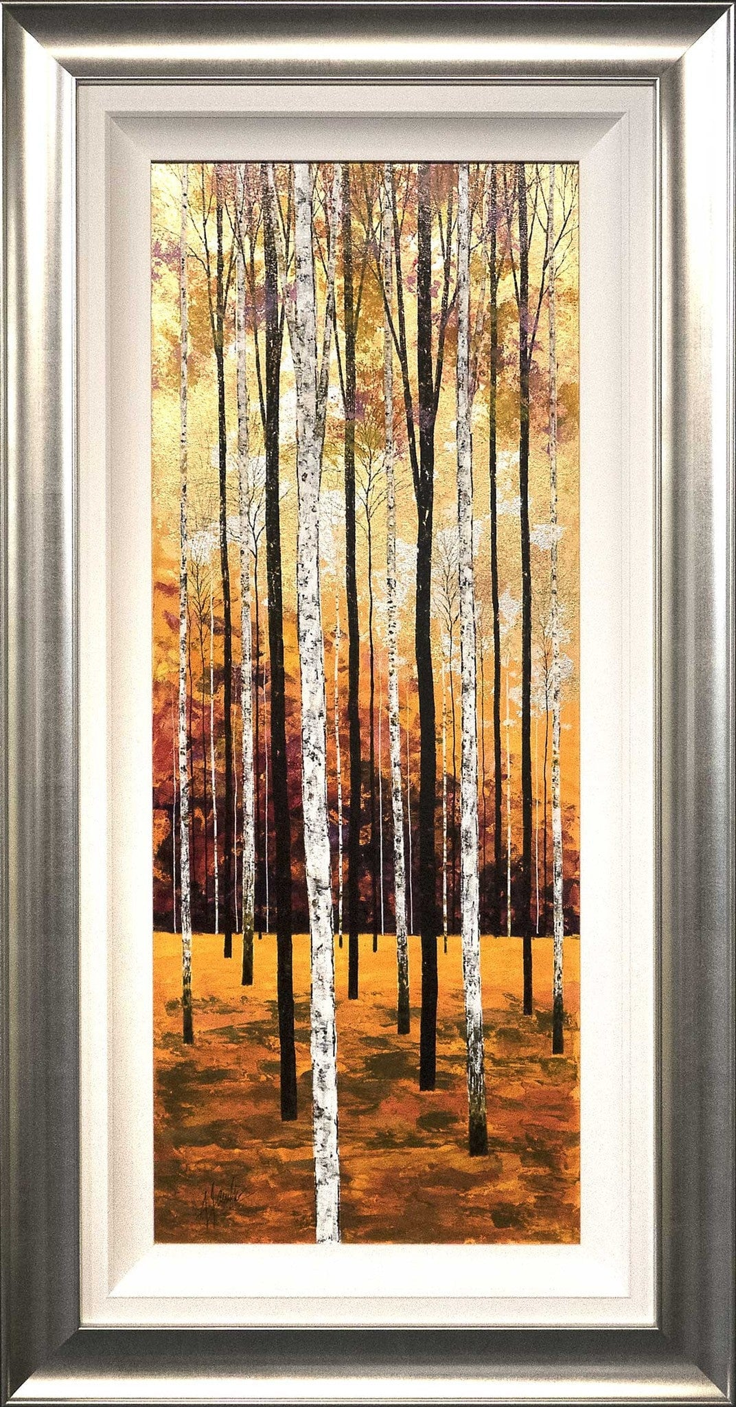 Autumn Birches Triptych Alex Jawdokimov