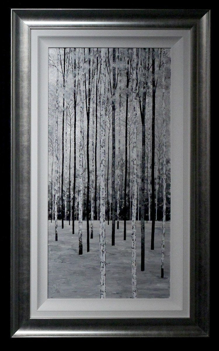 Silver Birches Triptych - SOLD Alex Jawdokimov