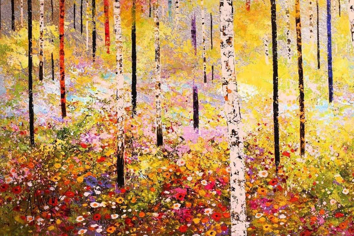 Summer Blooms - SOLD Alex Jawdokimov