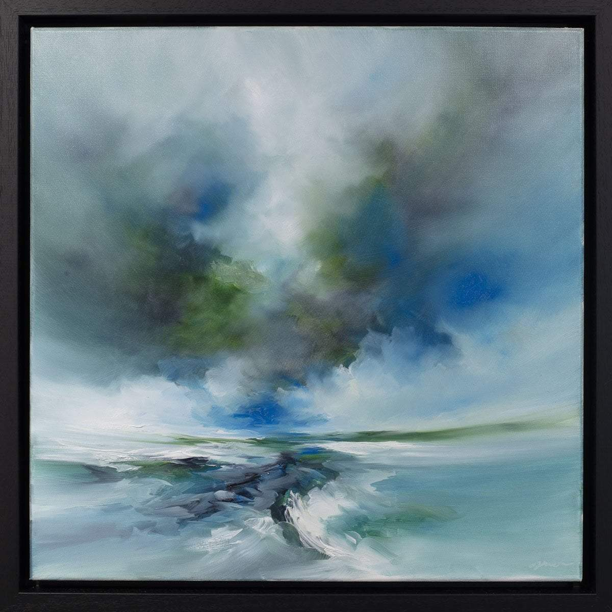 Ocean Breeze Alison Johnson Framed