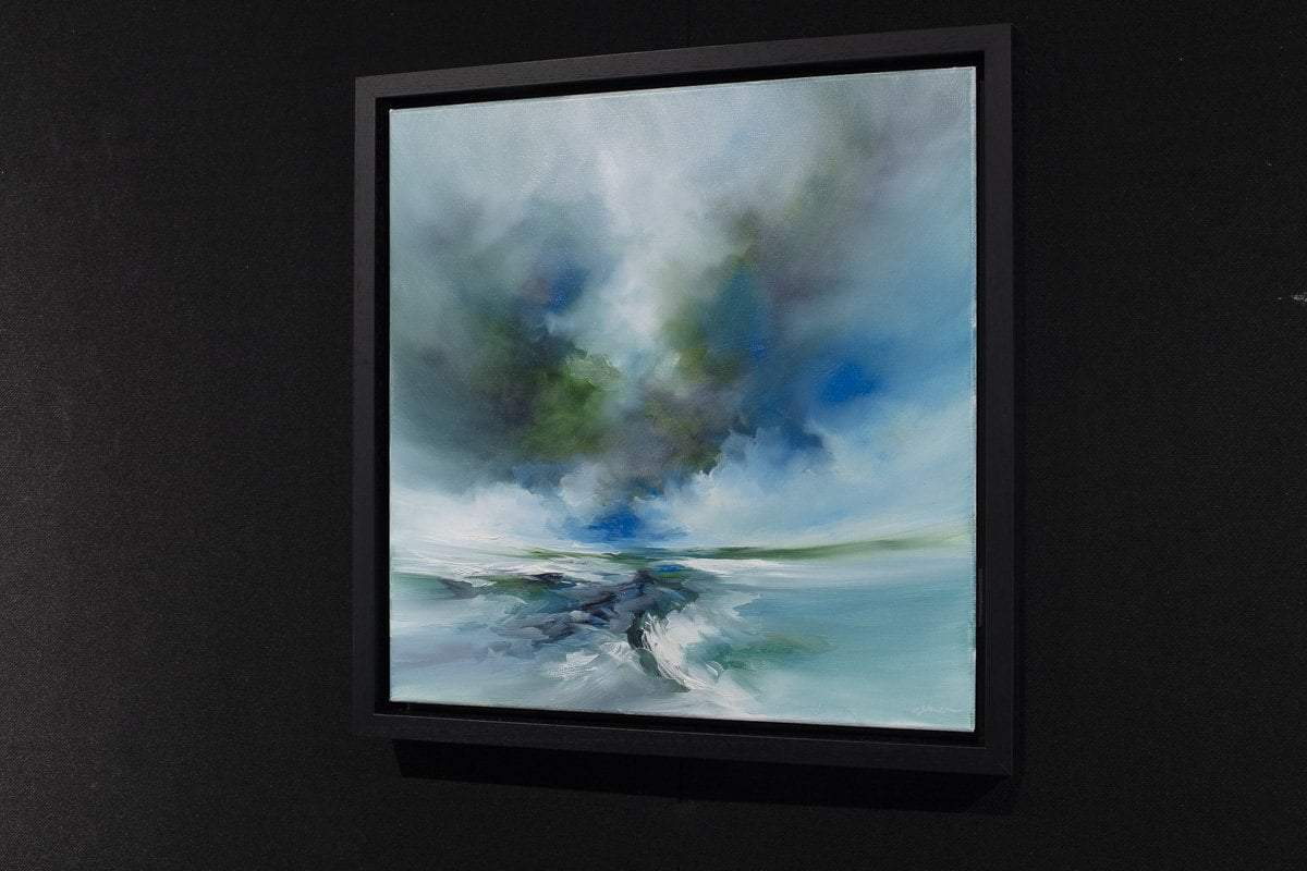 Ocean Breeze - Original Alison Johnson Framed