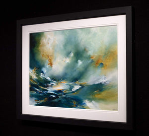 Secrets - Original - SOLD Alison Johnson Framed