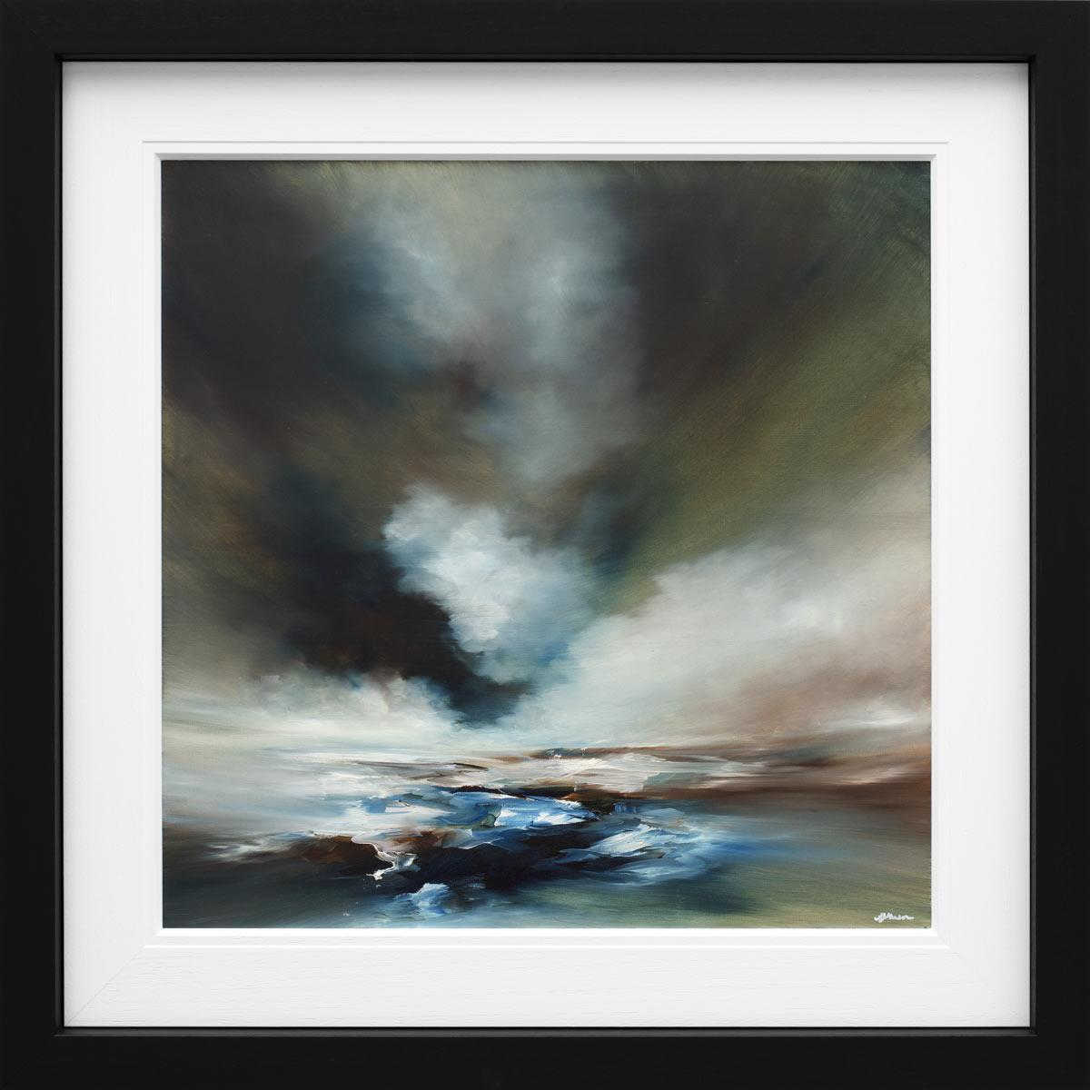 The Sea Meets the Sky Alison Johnson Framed