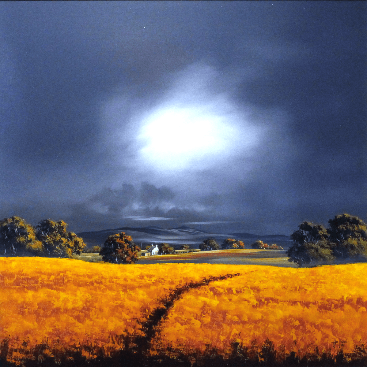 Approaching Storm - SOLD Allan Morgan
