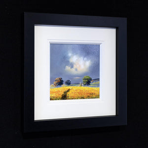 Canola Fields - Original Allan Morgan Framed