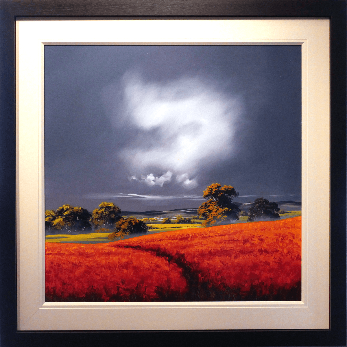 Crimson Fields - SOLD Allan Morgan