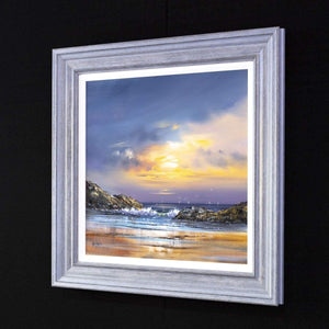 Evening Sky I  - Original Allan Morgan Framed
