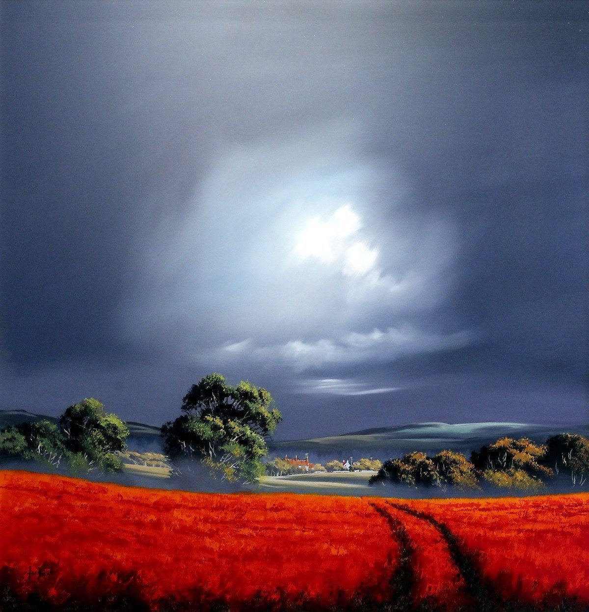 Fields Aflame - RESERVED Allan Morgan