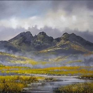 Mountain Mists - SOLD Allan Morgan