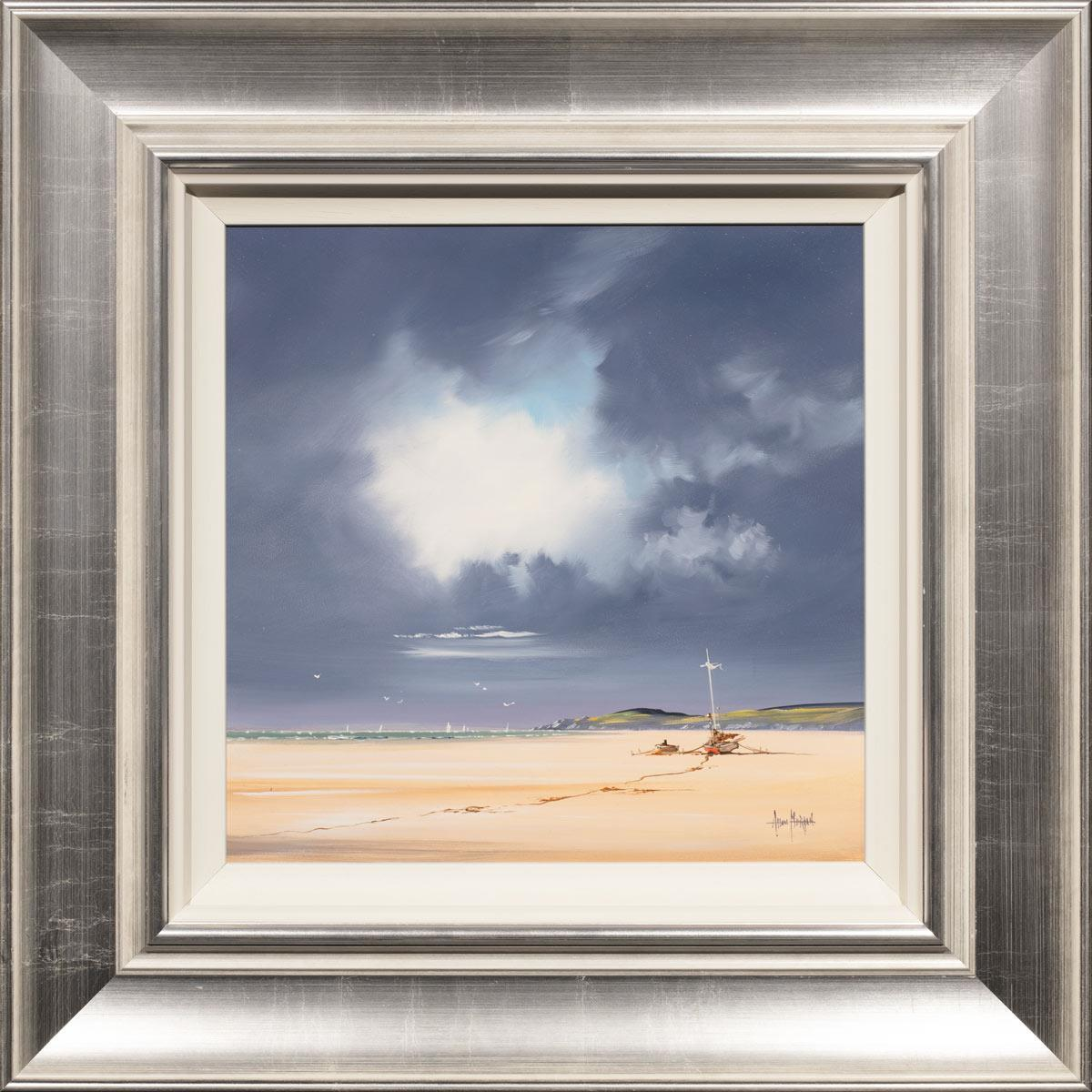 No Man Can Tether Time or Tide Allan Morgan Framed
