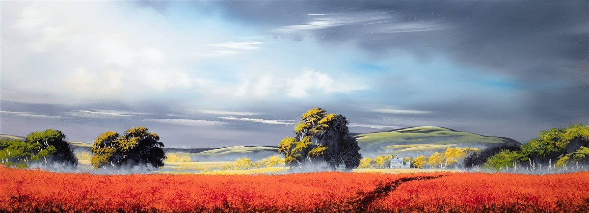 Scarlet Lands Allan Morgan