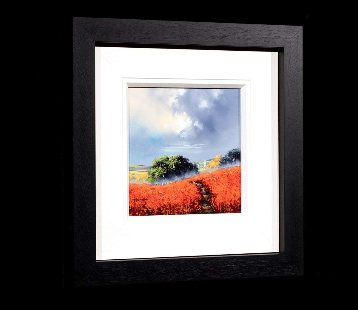 Stormy Vista - Original Allan Morgan Framed