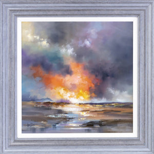 Sunlit Calm - Original Allan Morgan Framed