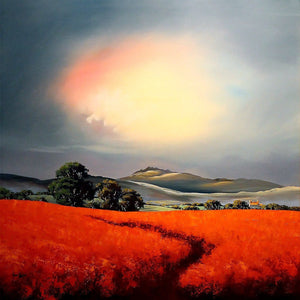Through Orange Fields - SOLD Allan Morgan