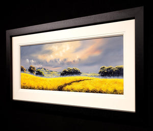 To The Village Allan Morgan Framed