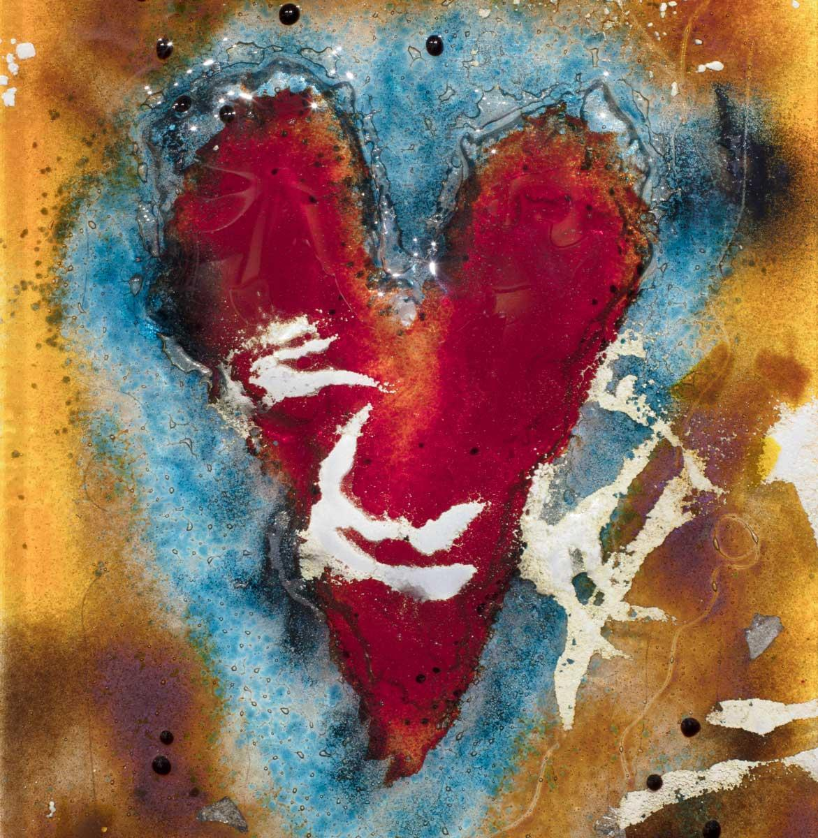 Heart Of Glass IX - Original Amanda Jones