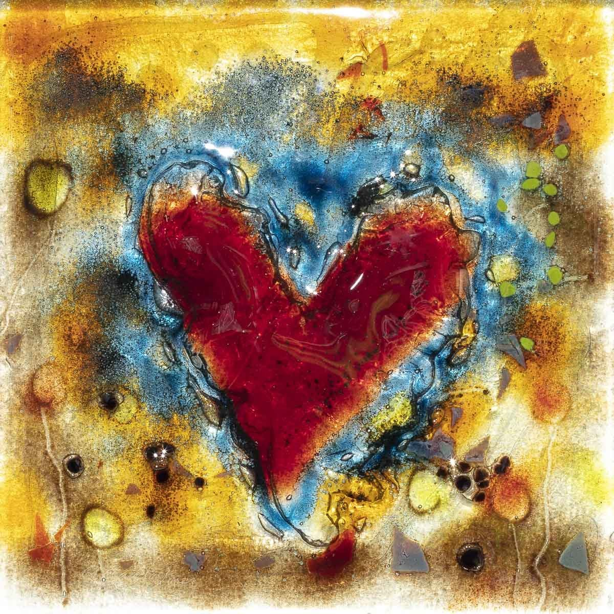 Love Is Heart Shaped - Original - SOLD