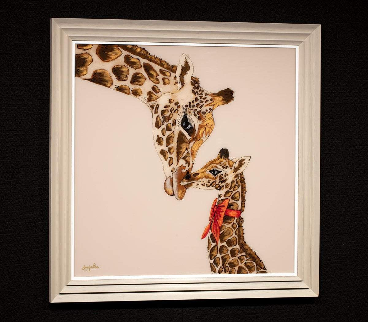 A Mothers Love Amy Louise Framed