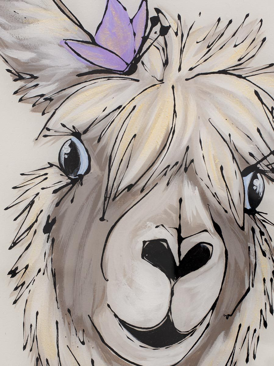 Adeline Alpaca - Original Amy Louise