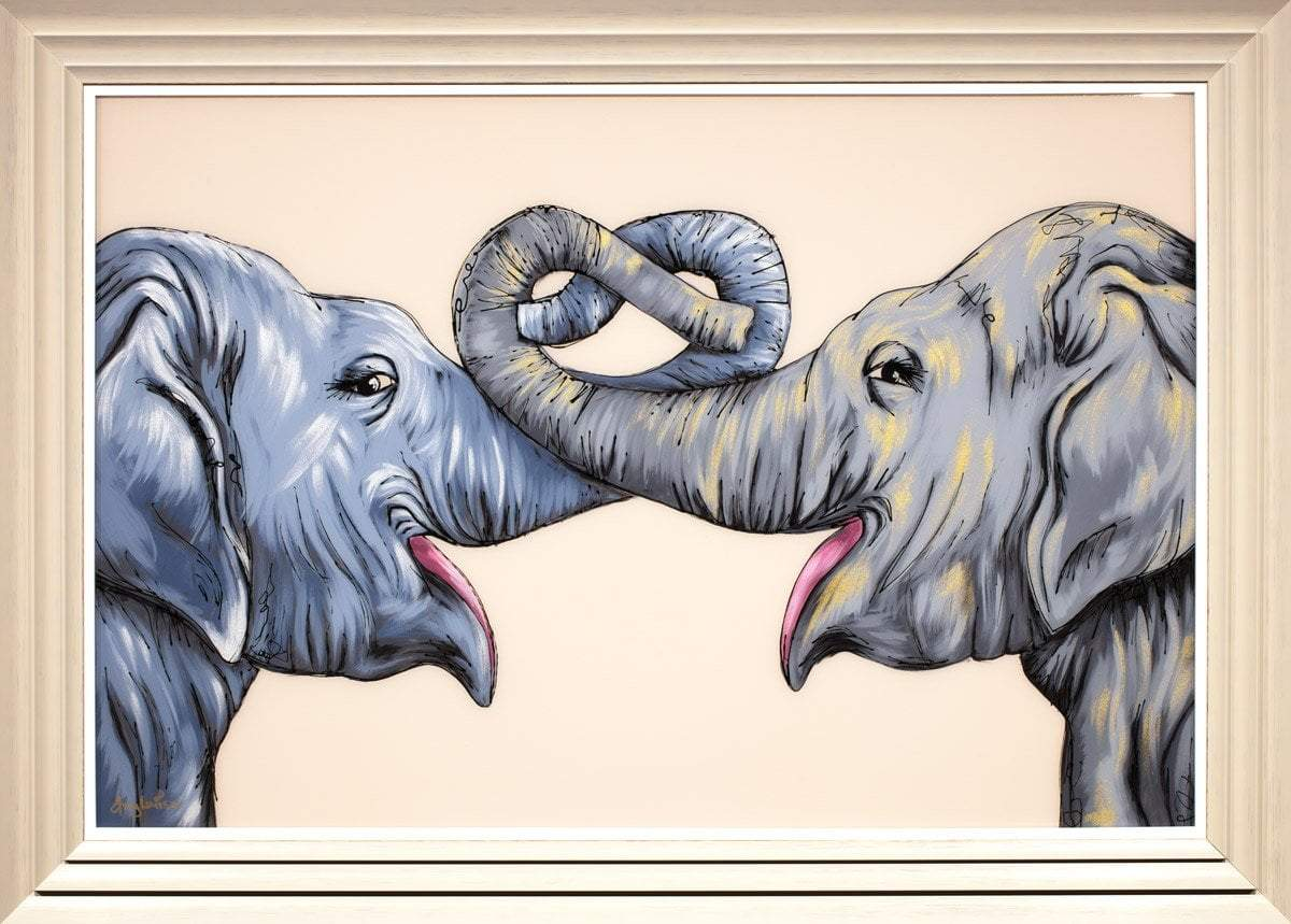 Elephants Never Forget Amy Louise Framed