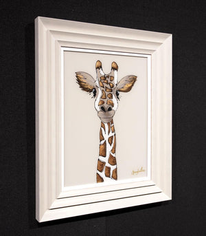 George Giraffe Amy Louise Framed