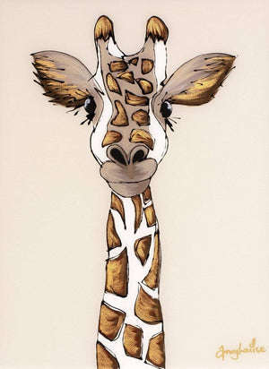George Giraffe - Original Amy Louise Framed