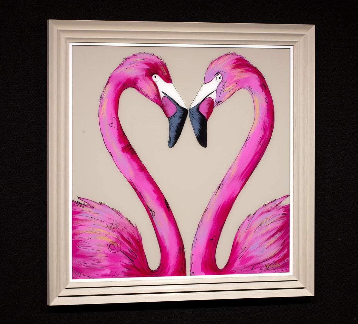 Love Is All You Need Amy Louise Framed