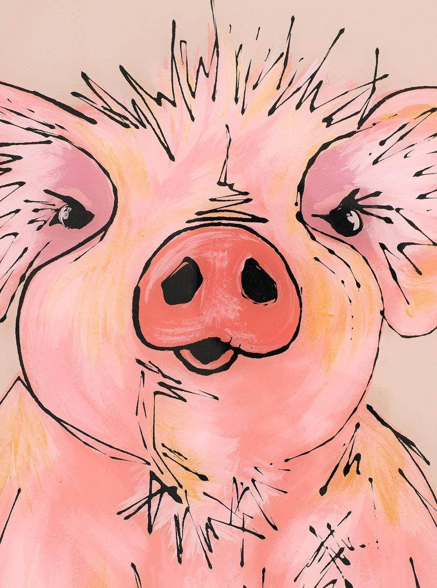 Percy Piggy - Original Amy Louise