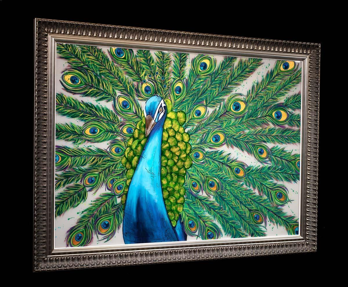 The Peacock Dance Amy Louise