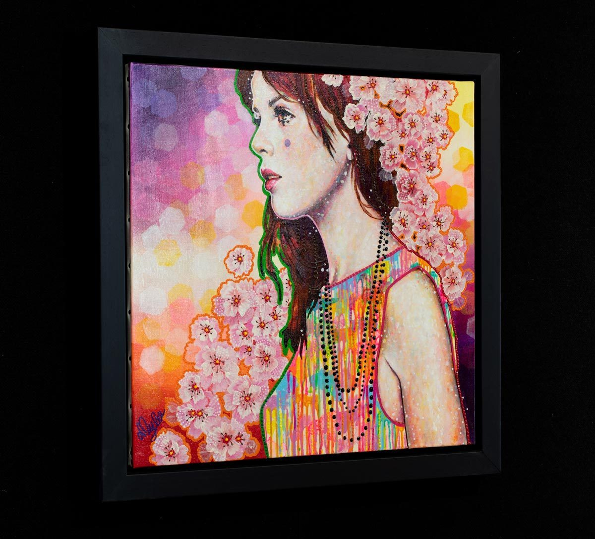 Lily Rose - Original Amylee Framed