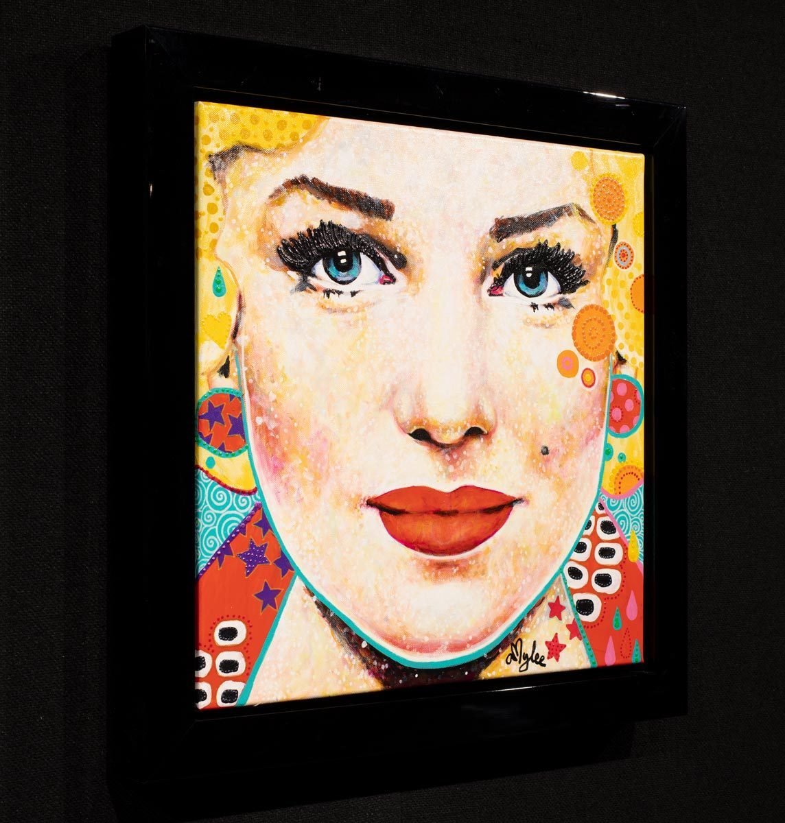 Norma - Original Amylee Framed