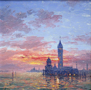 Reflections of Venice - SOLD Andrew Grant Kurtis