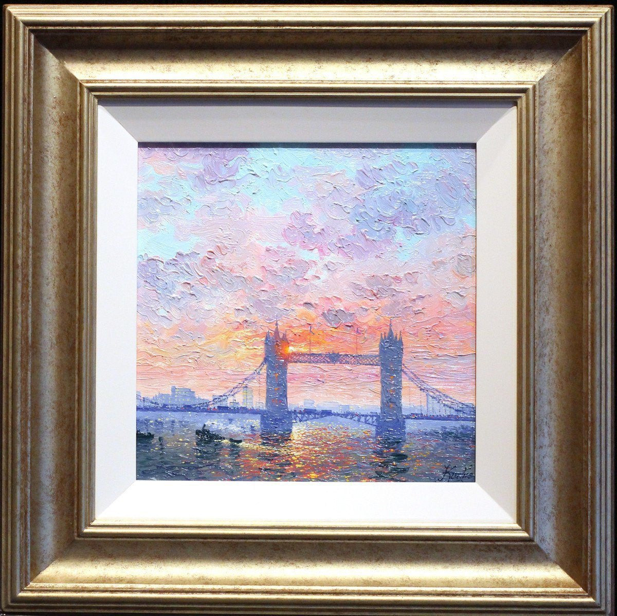 Sunshine Sparkle, Tower Bridge - SOLD Andrew Grant Kurtis