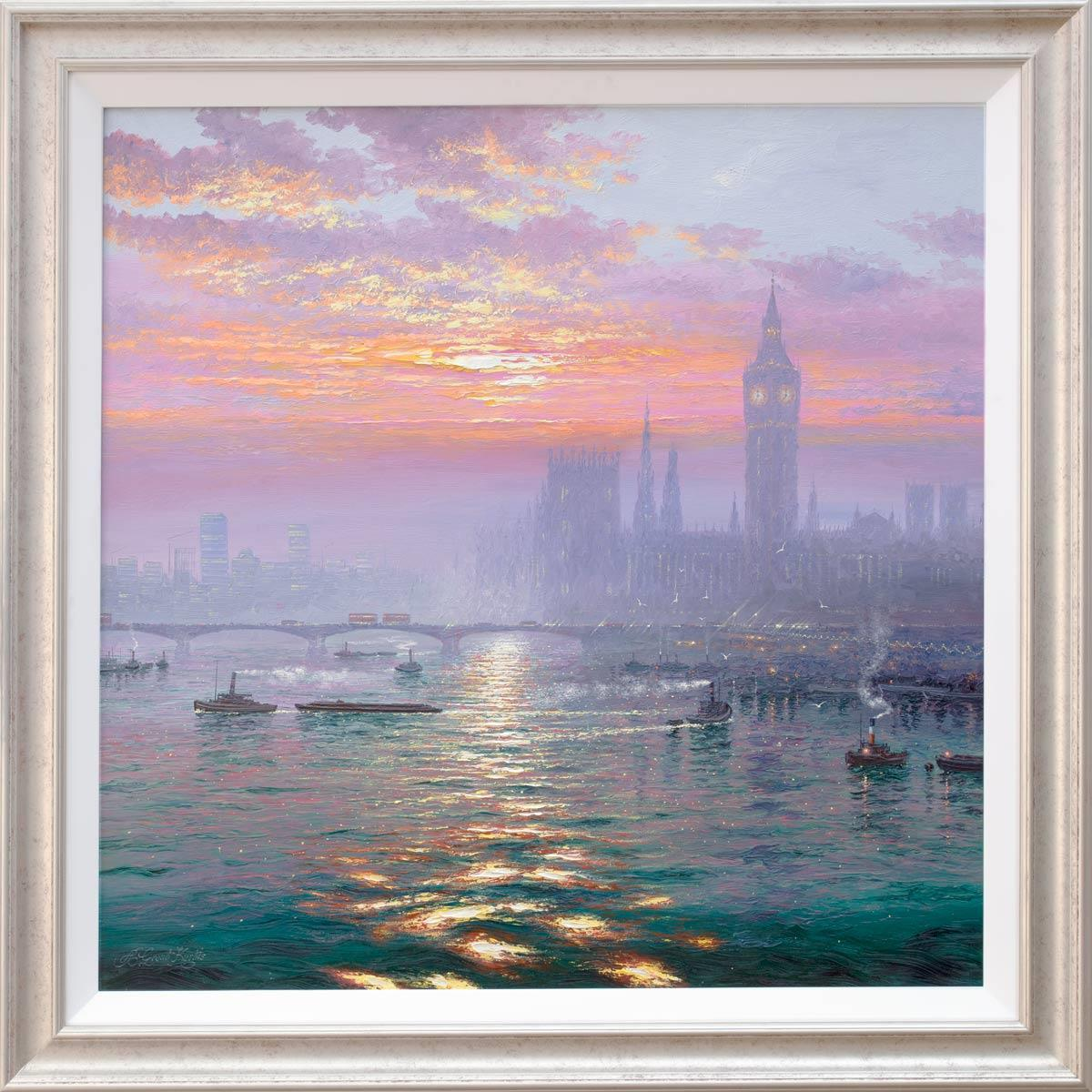 Sunshine Sparkles and Andrew Grant Kurtis Framed