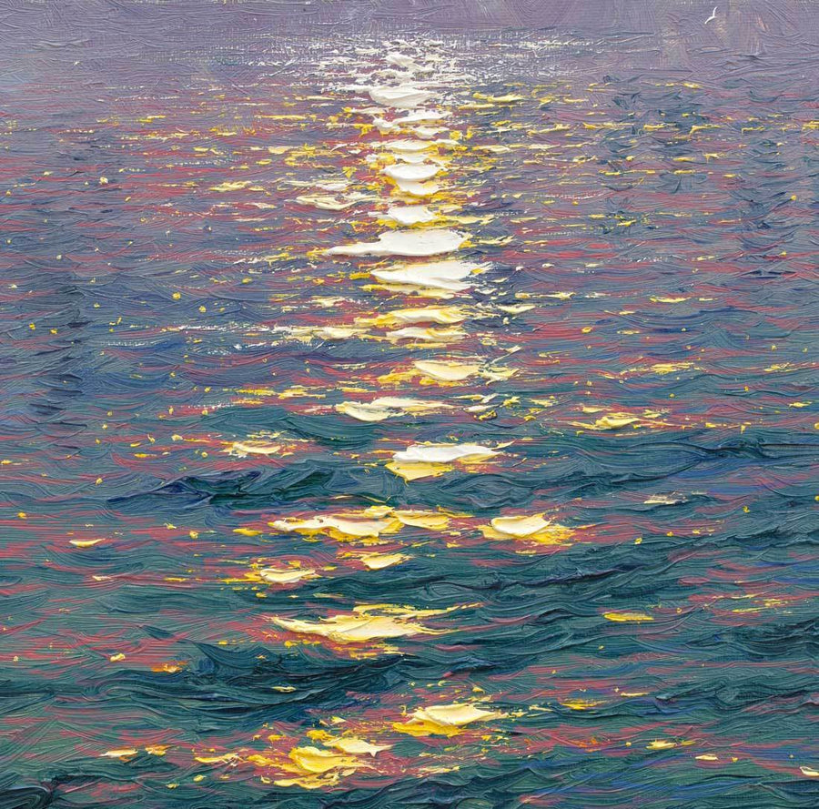 The Sunshine Sparkles through the Morning Haze Andrew Grant Kurtis Loose