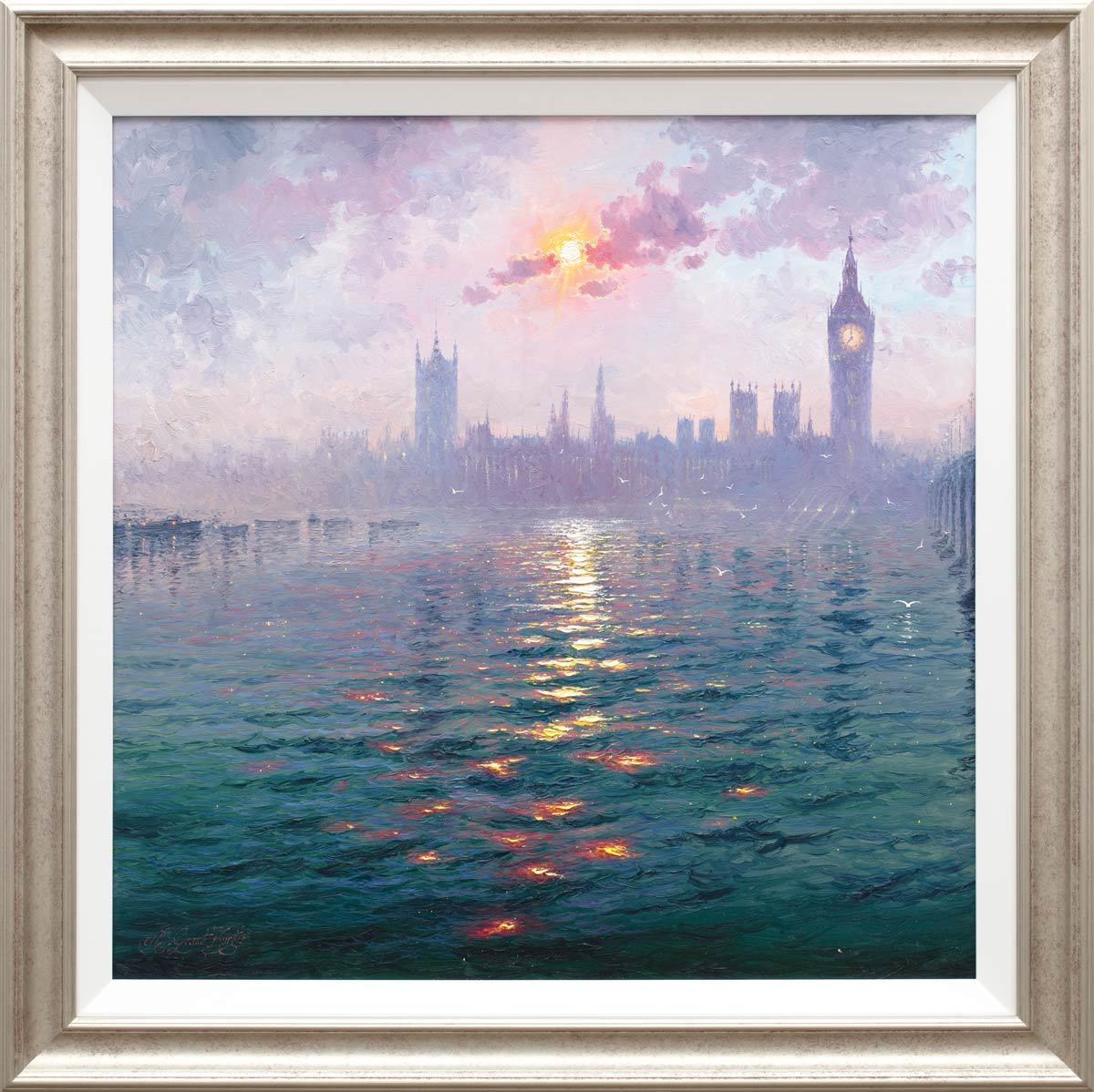The Sunshine Sparkles through the Morning Haze - Original Andrew Grant Kurtis Loose