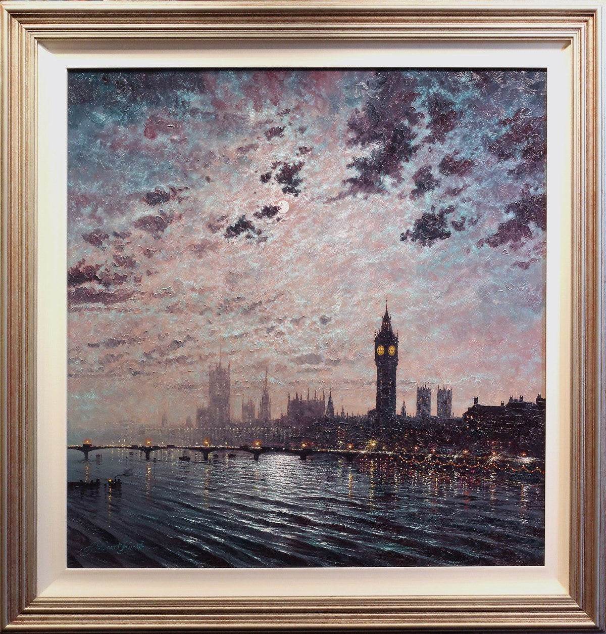 Westminster Chimes at Midnight - SOLD Andrew Grant Kurtis
