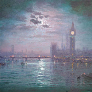 Westminster Chimes at Night Andrew Grant Kurtis Loose