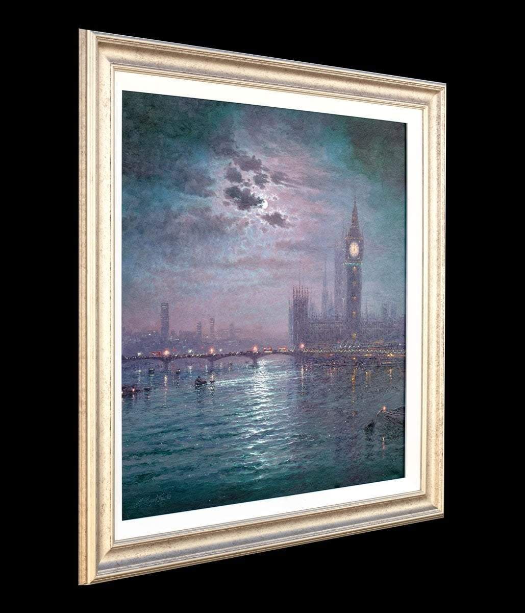 Westminster Chimes at Night - Original Andrew Grant Kurtis Loose