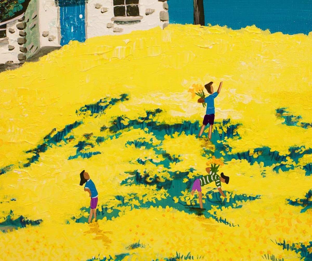 Daffodil Pickers Lunch Anne Blundell