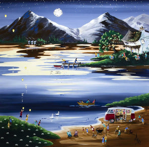 Lakeshore party - SOLD Anne Blundell