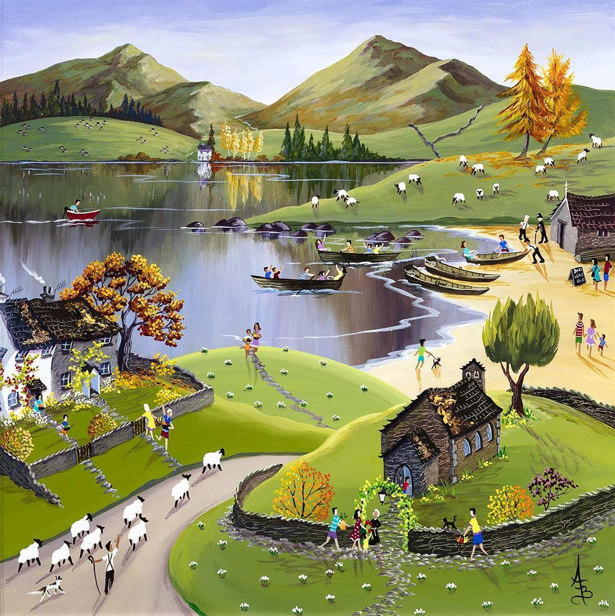 Lakeside View - Original Anne Blundell